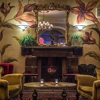 The Walton - fireplace