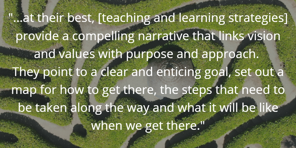 Why teaching and learning needs a narrative G&T